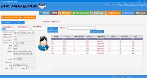 Fitness Management Software by Desktop Based Management Software Fitness Center