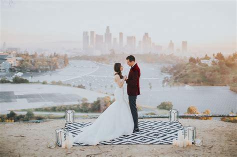 Wedding Shoes Los Angeles by Los Angeles Skyline Elopement Ella Green