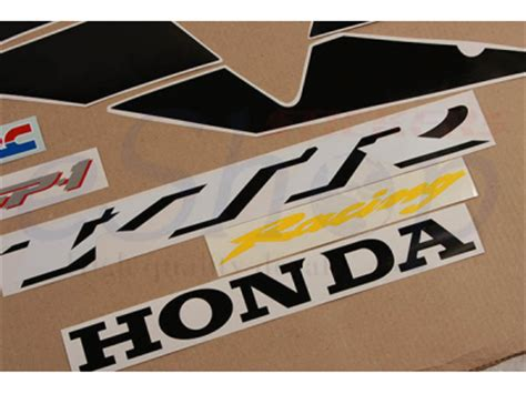 Honda Vtr Aufkleber by Vtr 1000 Sp1 Red Set Eshop Stickers