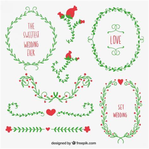 cute wedding decoration vector free download wreaths for wedding decoration vector free download