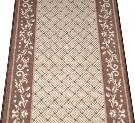 runner rugs by the foot caramel scroll border carpet runner purchase by the linear foot modern rugs by dean