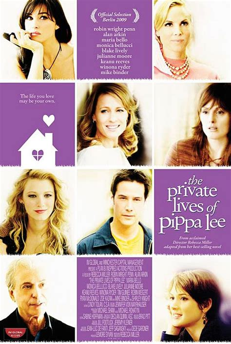 new the private lives of pippa lee poster filmofilia