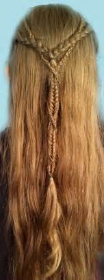celtic warrior hair braids beautiful elven braids