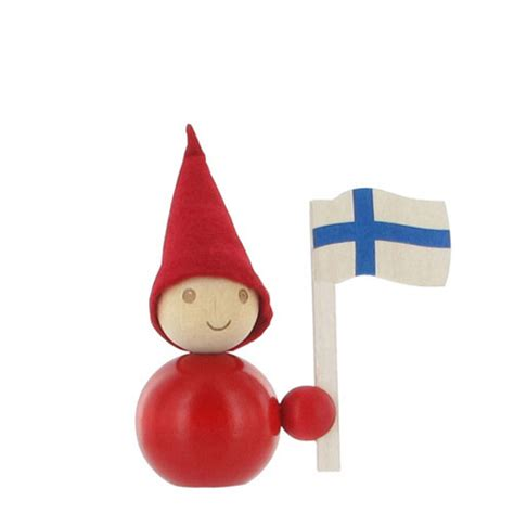 finnish flag tonttu christmas decorations