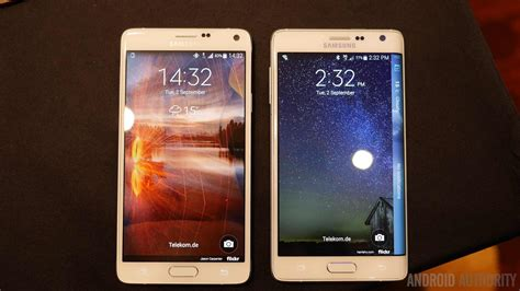 Samsung Galaxy Note 4 And Galaxy Note Edge Unleashed At Ifa 2014 Galaxy Note 4 And Note Edge Screens Obliterate The Competition In Tests