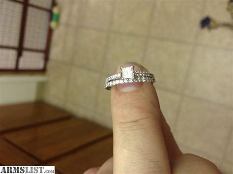armslist for sale trade engagement ring and wedding