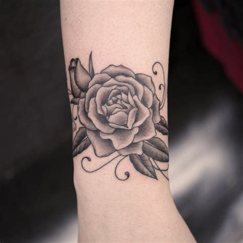 rose tattoo wrist wrist pictures search flowers