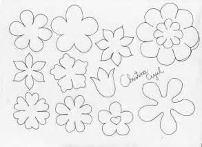 imagenes navideños moldes molde de flores para recortar imagui