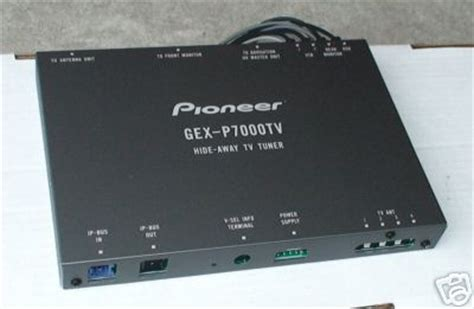 Tv Tuner Gex 2850dvb2 pioneer gex p7000tv hide away tv tuner 270 ship clublexus lexus forum discussion