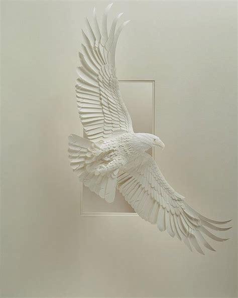 Make Paper Sculpture - creative paper sculptures by calvin nicholls