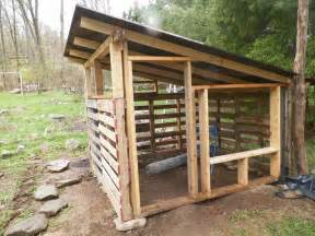 Hen Hutch Pallet Coop Construction Chickens Pinterest