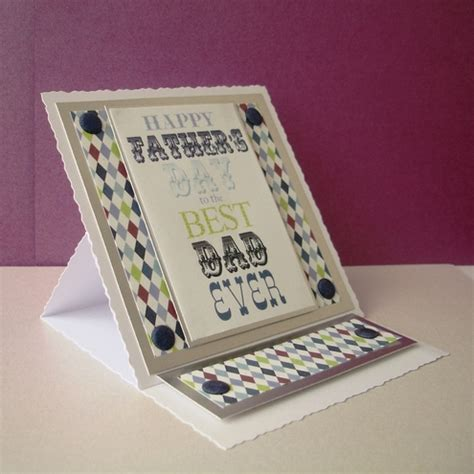 Handmade Fathers Day Card - folksy buy quot handmade fathers day easel greeting card