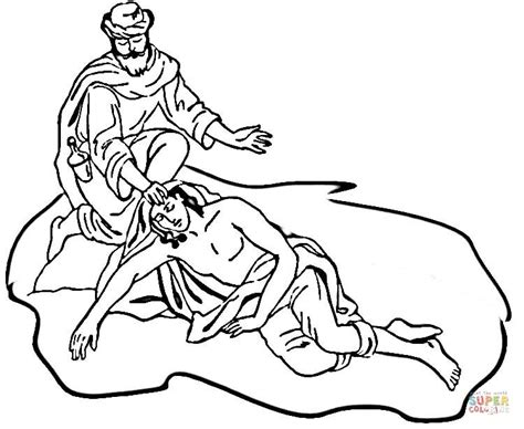 Bible Coloring Pages Samaritan