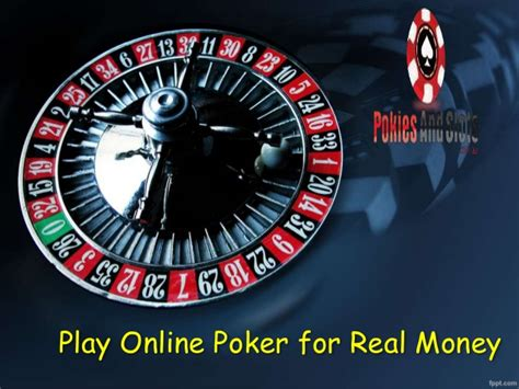 Make Money Online Poker - view the slide to know how you can earn real money by plying online p