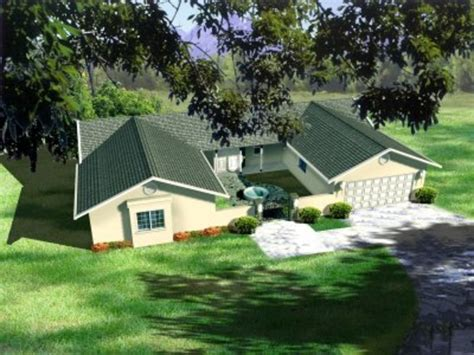 U Shaped Ranch House Plans ranch style house plan 3 beds 2 baths 1874 sq ft plan 1 397