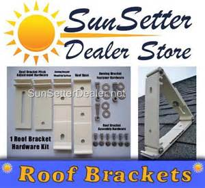 Sunsetter Awning Roof Mount Brackets Sunsetter Awning Roof Mounting Brackets Ebay