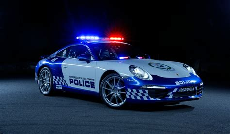 Porsche 911 Carrera Police Car Joins Nsw Force