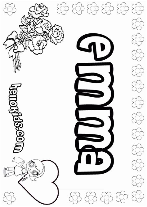 coloring pages by name coloring pages girls names az coloring pages