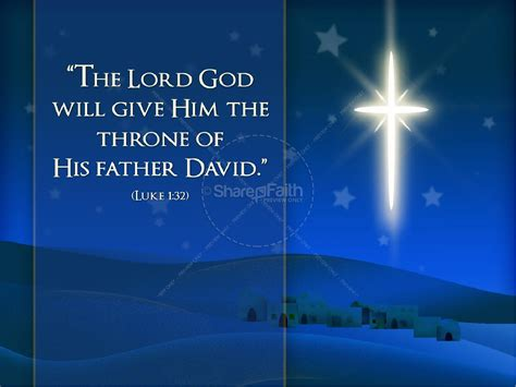 son of the highest nativity powerpoint christmas powerpoints