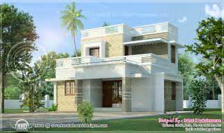 2 Floor House by Small 2 Storey Villain 1280 Sq Ft Kerala Home Design And