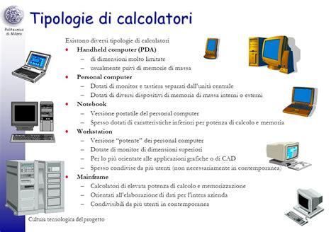 diversi tipi di computer il personal computer architettura e funzionamento ppt