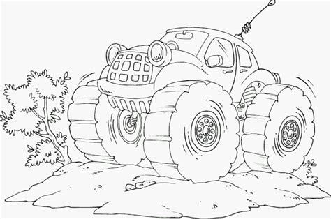 print download monster truck coloring pages maximum