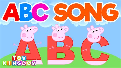alphabet rhymes abc s for toddlers and preschool children rhymes for children volume 5 books peppa pig abc song for toddlers best learn alphabet