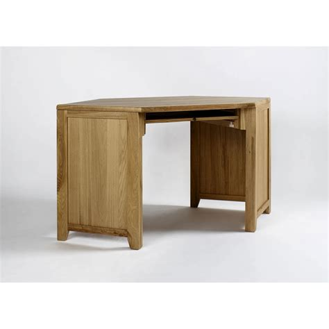 oak corner office desk westbury solid oak furniture corner office computer desk