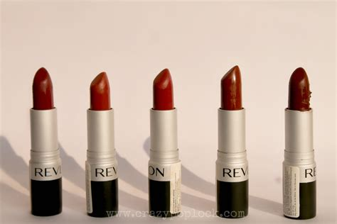 Lipstik Revlon Review revlon matte lipsticks swatches and review b h a r t i p