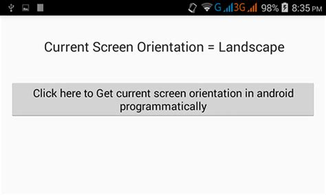 android layout orientation programmatically orientation 2 android exles