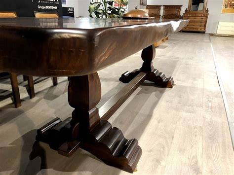 marchetti tavoli tavolo in legno rettangolare cedro di marchetti a prezzo