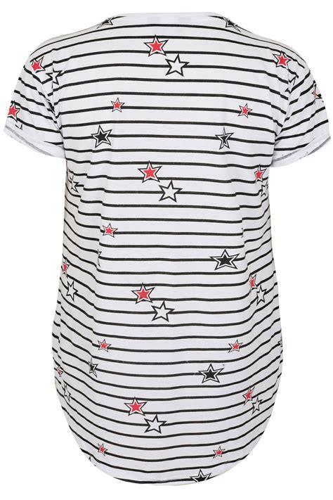 t mobile background check white black stripe print pocket t shirt plus