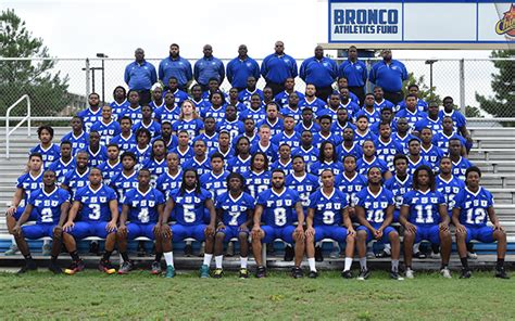 Fayetteville State Mba Class Schedule by Official Football Roster Fsubroncos Official