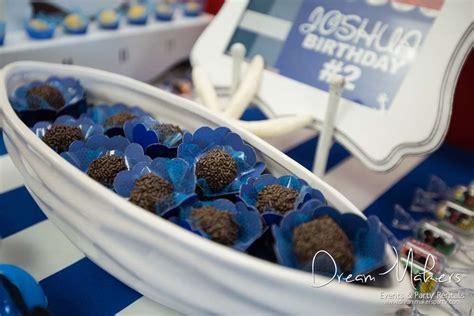 Jesica Mickey Navy mickey mouse sailor birthday ideas photo 1 of 54