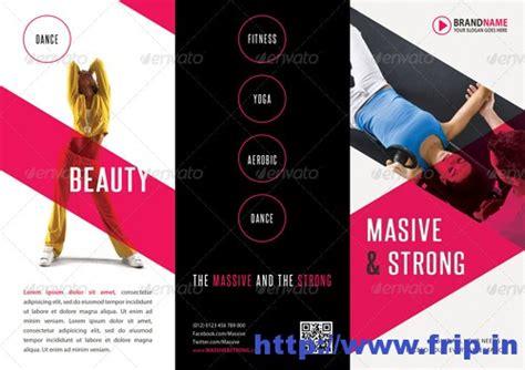 fitness brochure template 50 best spa fitness hair salon brochure template frip in