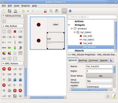 python tutorial gui pdf glade virtual control panel