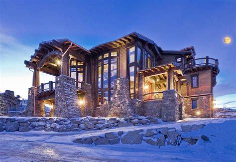 beautiful mountain houses ski dream home luxury mountain retreat utah most