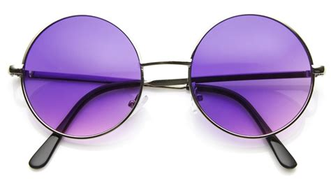 Chanel 2155 Purple Lens vintage oversized silver purple sunglasses 8370zu