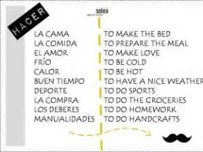 preguntas con verbos en español el verbo hacer aprendamos espa 209 ol