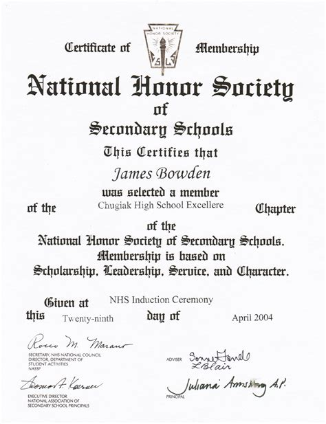 national honor society certificate template 98 nhs certificate template sle nhs essaysnhs essays