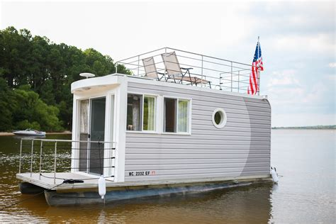 jordan lake houseboat ever heard of a tiny houseboat you can rent one at jordan