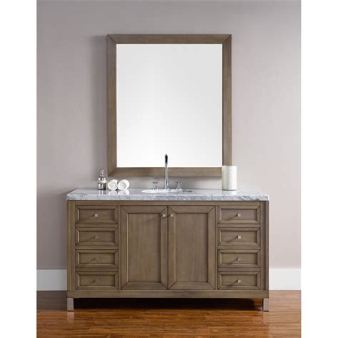 Vanities Chicago by Quot Chicago 60 Quot Quot Single Vanity White Washed Walnut Quot