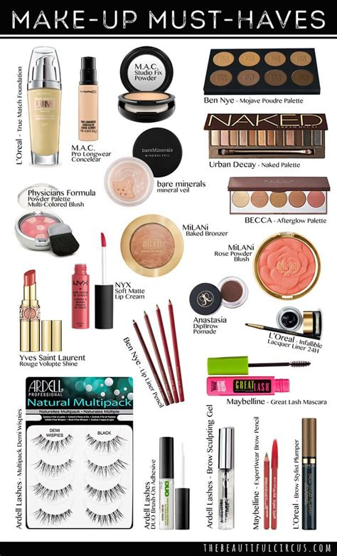7 Must Haves From The Shop by Must Makeup S For Beginners Saubhaya Makeup