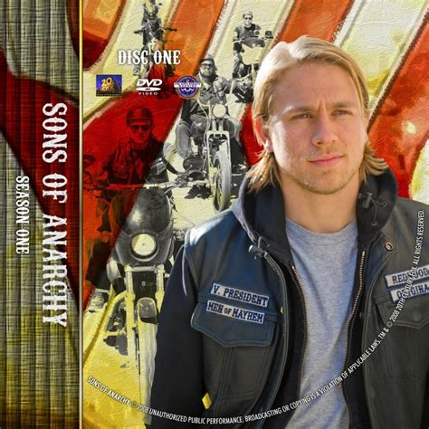 season 1 sons of anarchy sons of anarchy season 1 disc 1 custom dvd labels sons