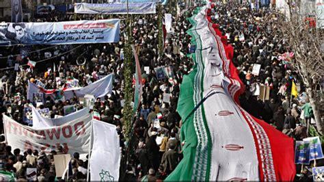 Suara Kebisuan Merenangi Cahaya Islam Di Berbagai Penjuru Dunia jutaan rakyat iran peringati revolusi 1979 liputan islam