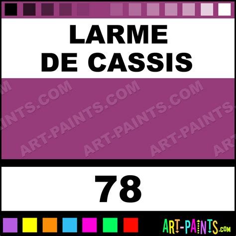 cassis color larme de cassis lierre sauvage calligraphy inks pigments