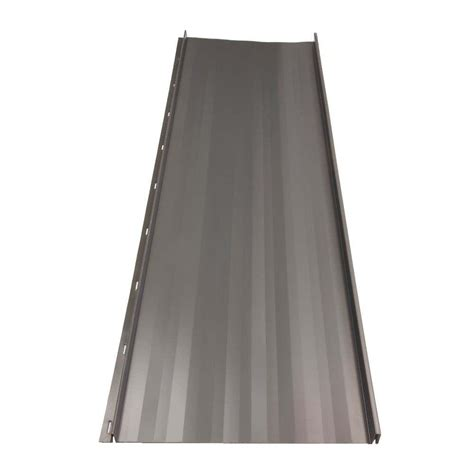 fabral residential 12 ft standing seam galvanized steel