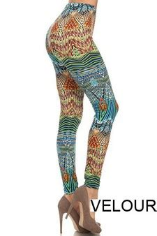 velour patterned leggings wholesale velour leggings yelete com