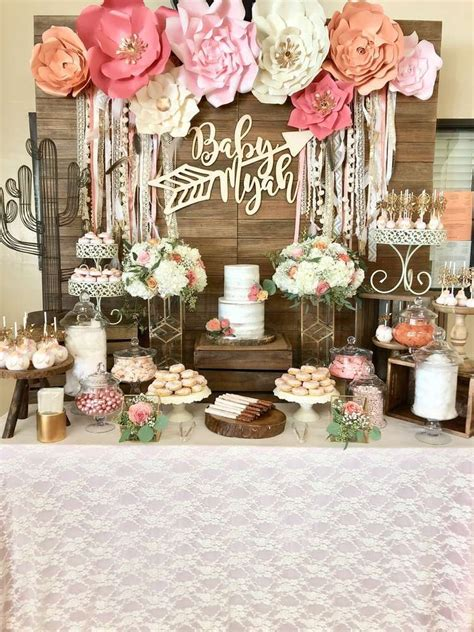 Ideas For A Baby Shower For A by Boho Chic Baby Shower Ideas Bohemian Tribal