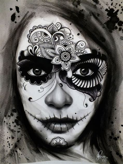 muertos tattoo designs 22 new dia de los muertos tattoos designs